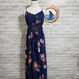 Doe & Rae floral print maxi dress